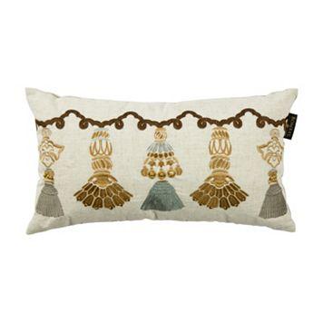 Bombay® India Tassels Lumbar Pillow