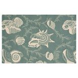 Nourison Portico Seashore Shell Indoor Outdoor Rug