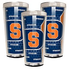 Syracuse Orange 3-Piece Shot Glass Set
