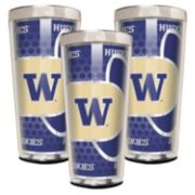 Washington Huskies 3-Piece Shot Glass Set