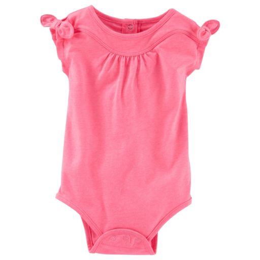 Baby Girl OshKosh B'gosh® Bow-Sleeve Bodysuit