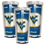West Virginia Mountaineers 3 pc Shot Glass Set