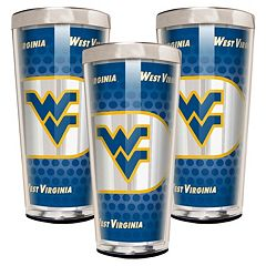 West Virginia Mountaineers 3-Piece Shot Glass Set