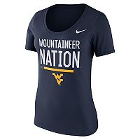 Women's Nike West Virginia Mountaineers Local Spirit Tee