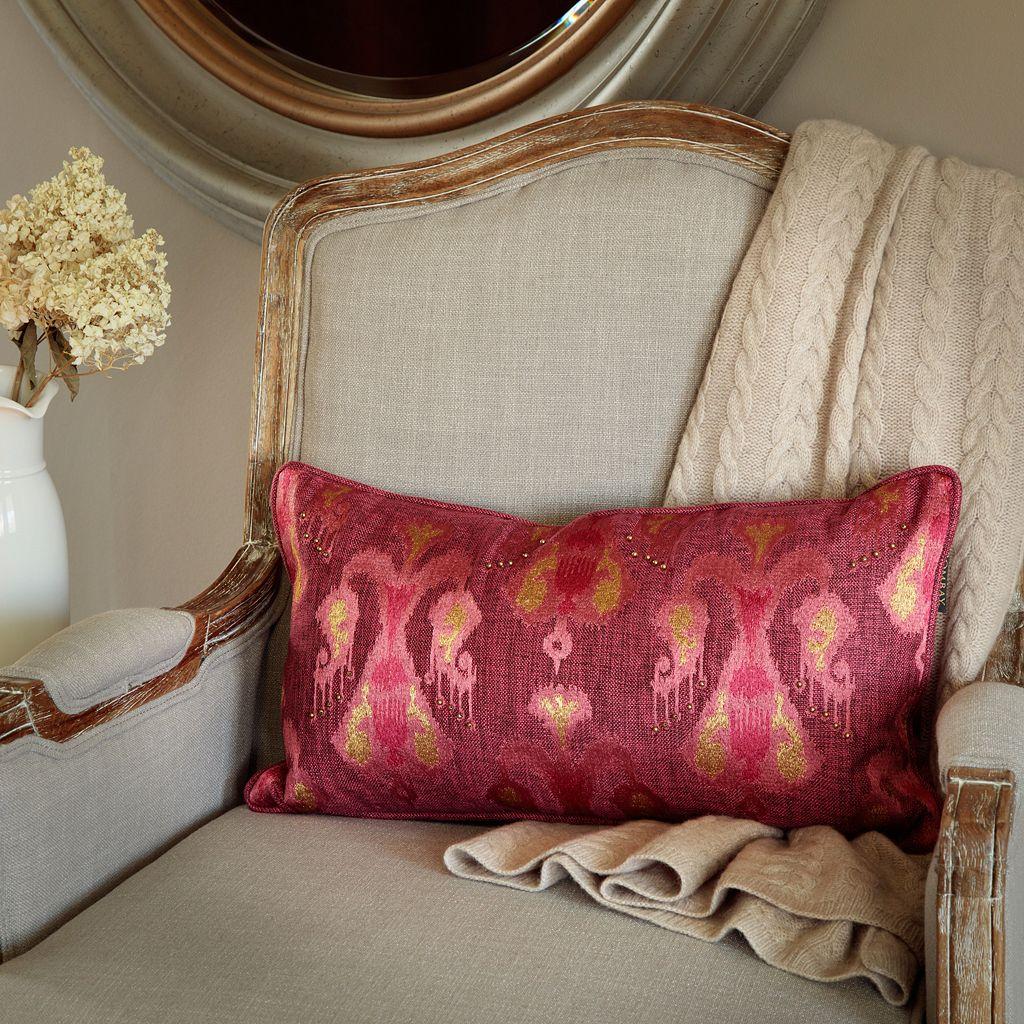 Bombay® Ikat Tribal Lumbar Pillow