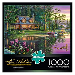 Buffalo Games 1000 pc Kim Norlien Golden Moments Puzzle