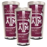 Texas A&M Aggies 3-Piece Shot Glass Set