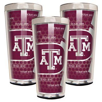 Texas A&M Aggies 3-Piece Shot Glass Set