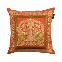 Bombay® Crane Sari Throw Pillow