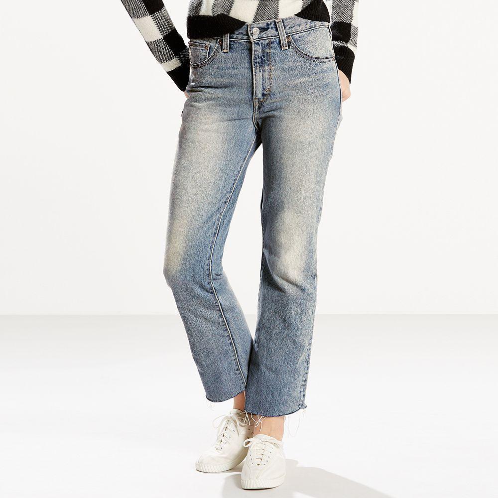 Levi's Kick Flare-Leg Ankle Jeans