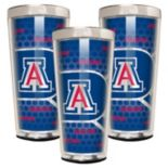 Arizona Wildcats 3-Piece Shot Glass Set