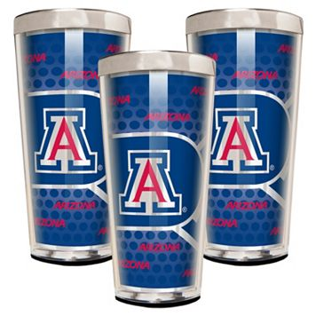 Arizona Wildcats 3-Piece Shot Glass Set