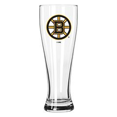Boelter Boston Bruins Clear Pilsner Glass