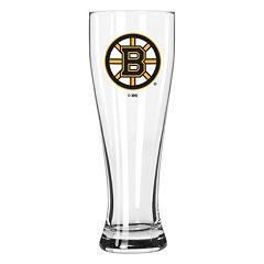 Boelter Boston Bruins Clear Pilsner Glass