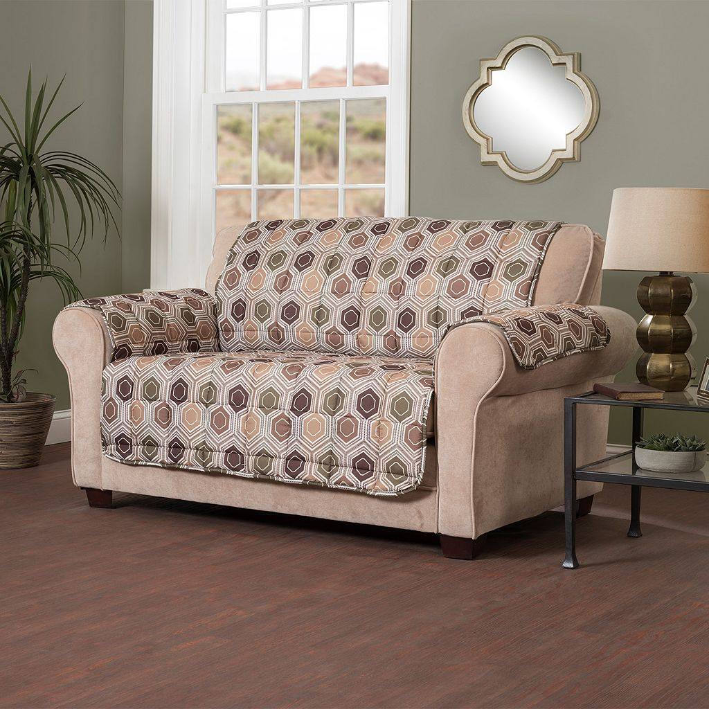 Hexagon XL Sofa Slipcover