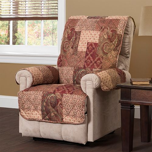 Paisley Patch Recliner Slipcover