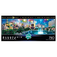 Buffalo Games 750 pc Alexander Chen Las Vegas Twilight Panoramic Puzzle