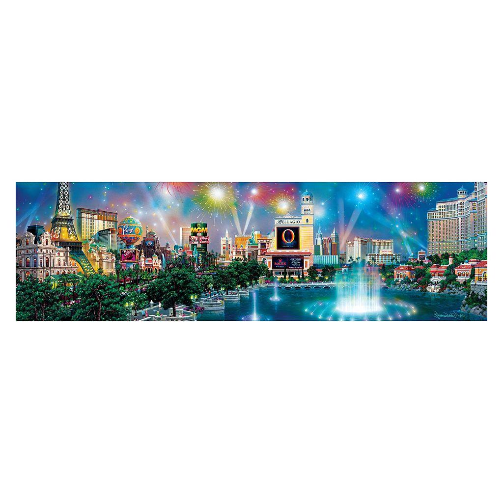 Buffalo Games 750-pc. Alexander Chen Las Vegas Twilight Panoramic Puzzle