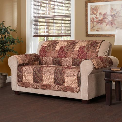 Jeffrey Home Paisley Patch Sofa Slipcover