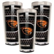 Oregon State Beavers 3-Piece Shot Glass Set