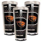 Oregon State Beavers 3 pc Shot Glass Set