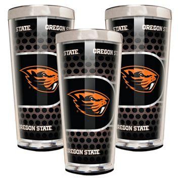 Oregon State Beavers 3-Piece Shot Glass Set