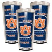 Auburn Tigers 3 pc Shot Glass Set