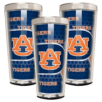 Auburn Tigers 3-Piece Shot Glass Set