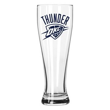 Boelter Oklahoma City Thunder Clear Pilsner Glass