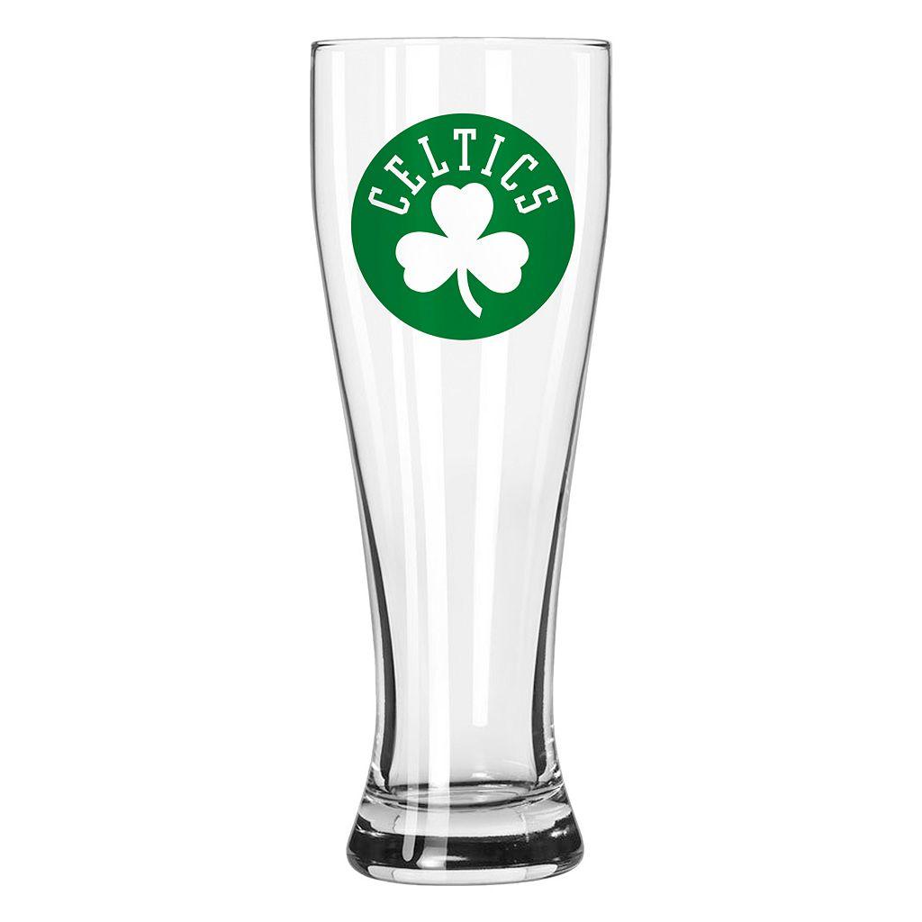 Boelter Boston Celtics Clear Pilsner Glass