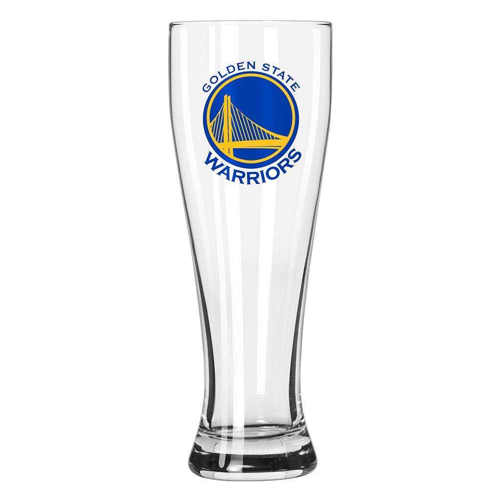 Boelter Golden State Warriors Clear Pilsner Glass