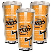 Oklahoma State Cowboys 3 pc Shot Glass Set