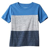 Toddler Boy Jumping Beans® Heathered Colorblock Stripe Tee