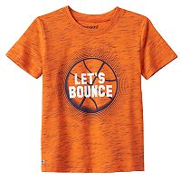 Toddler Boy Jumping Beans® Play Cool Textured Space-Dyed Sport Graphic Tee