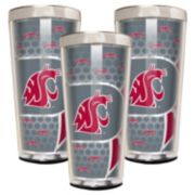 Washington State Cougars 3-Piece Shot Glass Set