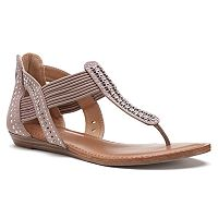Candie's® Women's Multistrand Sandals