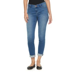 Women's Juicy Couture Released Hem Skinny Jeans