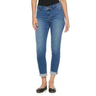 Women's Juicy Couture Released Hem Skinny Jeans