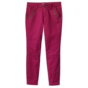 Girls 7-16 Mudd® Skinny Utility Ankle Pants