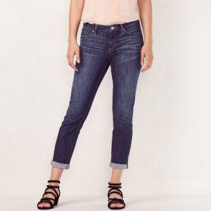 Women's LC Lauren Conrad Cuffed Skinny Capri Jeans