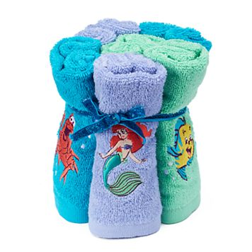 Disney's 6-pack The Little Mermaid Ariel Washcloth by Jumping Beans®