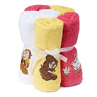 Disney's 6-pack Beauty and the Beast Belle Washcloth by Jumping Beans®