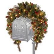 National Tree Company 36 in Artificial Crestwood Spruce Mailbox Garland