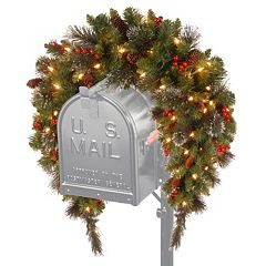 National Tree Company 36 in. Artificial Crestwood Spruce Mailbox Garland