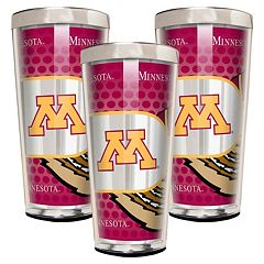 Minnesota Golden Gophers 3 pc Shot Glass Set