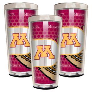 Minnesota Golden Gophers 3-Piece Shot Glass Set