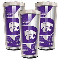 Kansas State Wildcats 3 pc Shot Glass Set