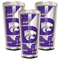 Kansas State Wildcats 3-Piece Shot Glass Set