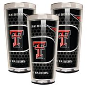 Texas Tech Red Raiders 3 pc Shot Glass Set