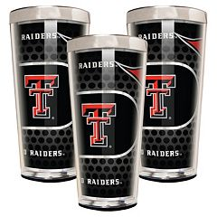 Texas Tech Red Raiders 3-Piece Shot Glass Set